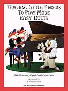 Cover icon of The Yellow Rose Of Texas sheet music for piano four hands  and Carolyn Miller, intermediate skill level
