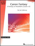 Cover icon of Canon Fantasy sheet music for piano solo (elementary) by Lee Galloway, classical score, beginner piano (elementary)