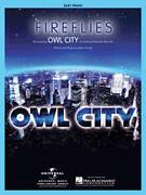 Cover icon of Fireflies, (easy) sheet music for piano solo by Owl City and Adam Young, easy skill level