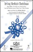 Cover icon of Irving Berlin's Christmas (Medley) sheet music for choir (SATB: soprano, alto, tenor, bass) by Irving Berlin, Mark Brymer and Michael Brown, intermediate skill level