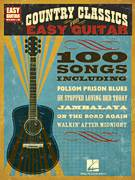 Cover icon of Luckenbach, Texas (Back To The Basics Of Love) sheet music for guitar solo (easy tablature) by Waylon Jennings, Bobby Emmons and Chips Moman, easy guitar (easy tablature)