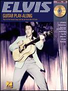 Cover icon of Heartbreak Hotel sheet music for guitar (tablature, play-along) by Elvis Presley, Mae Boren Axton and Tommy Durden, intermediate skill level
