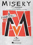 Cover icon of Misery sheet music for voice, piano or guitar by Maroon 5, Adam Levine, Jesse Carmichael and Sam Farrar, intermediate skill level