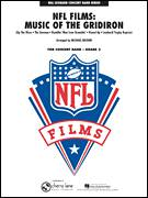 Cover icon of NFL Films: Music Of The Gridiron (COMPLETE) sheet music for concert band by Michael Brown, intermediate skill level