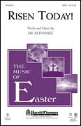Cover icon of Risen Today! sheet music for choir (SATB: soprano, alto, tenor, bass) by Jay Althouse and John Mason Neale, intermediate skill level