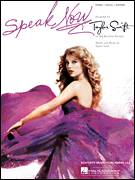 Cover icon of Speak Now sheet music for voice, piano or guitar by Taylor Swift, intermediate skill level