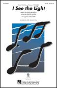 Cover icon of I See The Light (from Disney's Tangled) (arr. Mac Huff) sheet music for choir (SATB: soprano, alto, tenor, bass) by Alan Menken, David Slater and Mac Huff, intermediate skill level