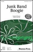 Cover icon of Junk Band Boogie sheet music for choir (3-Part Mixed) by Greg Gilpin, intermediate skill level