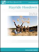 Cover icon of Hayride Hoedown sheet music for piano solo (elementary) by Glenda Austin, beginner piano (elementary)