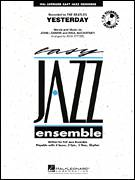 Cover icon of Yesterday (COMPLETE) sheet music for jazz band by Paul McCartney, John Lennon, Rick Stitzel and The Beatles, intermediate skill level