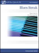 Cover icon of Blues Streak sheet music for piano solo (elementary) by Eric Baumgartner, beginner piano (elementary)