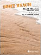 Cover icon of Some Beach sheet music for voice, piano or guitar by Blake Shelton, Paul Overstreet and Rory Lee Feek, intermediate skill level