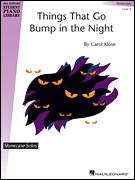 Cover icon of Things That Go Bump In The Night sheet music for piano solo (elementary) by Carol Klose, beginner piano (elementary)
