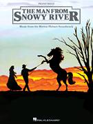 Cover icon of The Man From Snowy River (Main Title Theme) sheet music for piano solo by Bruce Rowland and The Man From Snowy River (Movie), intermediate skill level