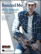 Cover icon of Remind Me sheet music for voice, piano or guitar by Brad Paisley & Carrie Underwood, Carrie Underwood, Brad Paisley, Chris DuBois and Kelley Lovelace, intermediate skill level