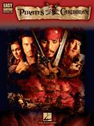 Cover icon of I've Got My Eye On You (from Pirates Of The Caribbean: Dead Man's Chest) sheet music for guitar solo (easy tablature) by Hans Zimmer, easy guitar (easy tablature)