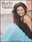 Cover icon of Love Gets Me Every Time sheet music for guitar solo (easy tablature) by Shania Twain and Robert John Lange, wedding score, easy guitar (easy tablature)