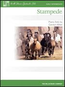 Cover icon of Stampede sheet music for piano solo (elementary) by Carolyn Miller, beginner piano (elementary)