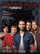 Cover icon of Moves Like Jagger sheet music for voice, piano or guitar by Maroon 5 featuring Christina Aguilera, Christina Aguilera, Maroon 5, Adam Levine, Ammar Malk, Benjamin Levin and Johan Schuster, intermediate skill level