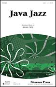 Cover icon of Java Jazz sheet music for choir (SAB: soprano, alto, bass) by Brian Tate, intermediate skill level