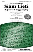 Cover icon of Siam Lieti (Rejoice With Happy Singing) sheet music for choir (3-Part Mixed) by Patrick Liebergen and Pietro Pariati, classical score, intermediate skill level