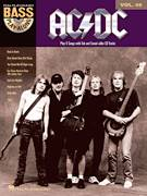 Cover icon of Back In Black sheet music for bass (tablature) (bass guitar) by AC/DC, Angus Young, Brian Johnson and Malcolm Young, intermediate skill level