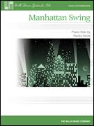 Cover icon of Manhattan Swing sheet music for piano solo (elementary) by Naoko Ikeda, beginner piano (elementary)