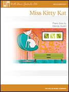Cover icon of Miss Kitty Kat sheet music for piano solo (elementary) by Glenda Austin, beginner piano (elementary)