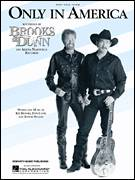 Cover icon of Only In America sheet music for voice, piano or guitar by Brooks & Dunn, Don Cook, Kix Brooks and Ronnie Rogers, intermediate skill level