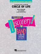 Cover icon of Circle of Life (from The Lion King) sheet music for concert band (Bb bass clarinet) by Elton John, Michael Sweeney and Tim Rice, intermediate skill level