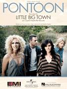 Cover icon of Pontoon sheet music for voice, piano or guitar by Little Big Town, Barry Dean, Luke Laird and Natalie Hemby, intermediate skill level