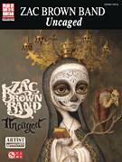 Cover icon of Uncaged sheet music for guitar (tablature) by Zac Brown Band and Zac Brown, intermediate skill level