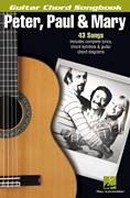 Cover icon of Blue sheet music for guitar (chords) by Peter, Paul & Mary, intermediate skill level
