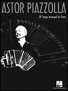 Cover icon of Imagines 676 sheet music for piano solo by Astor Piazzolla, intermediate skill level