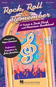 Cover icon of Rock, Roll and Remember: A Tribute To Dick Clark and American Bandstand (Medley) sheet music for choir (SAB: soprano, alto, bass) by Roger Emerson and Glee Cast, intermediate skill level