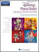 Cover icon of Belle (from Beauty And The Beast) sheet music for piano four hands by Alan Menken, intermediate skill level