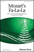 Cover icon of Mozart's Fa-La-La sheet music for choir (SAB: soprano, alto, bass) by Wolfgang Amadeus Mozart and Philip Kern, classical score, intermediate skill level