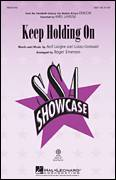Cover icon of Keep Holding On sheet music for choir (SSA: soprano, alto) by Roger Emerson, intermediate skill level
