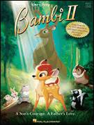 Cover icon of Let's Sing A Gay Little Spring Song sheet music for voice, piano or guitar by Larry Morey, Bambi II (Movie) and Frank Churchill, intermediate skill level