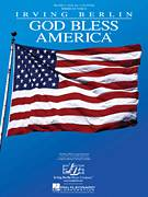 Cover icon of God Bless America sheet music for voice, piano or guitar by Irving Berlin and Celine Dion, intermediate skill level