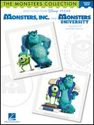 Cover icon of Monsters University sheet music for voice, piano or guitar by Randy Newman, Monsters University (Movie) and Monsters, Inc. (Movie), intermediate skill level