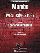 Cover icon of Mambo (from West Side Story) sheet music for concert band (full score) by Leonard Bernstein and Michael Sweeney, intermediate skill level
