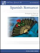 Cover icon of Spanish Romance sheet music for piano solo (elementary) by Frank Levin and Miscellaneous, classical score, beginner piano (elementary)