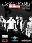 Cover icon of Story Of My Life sheet music for voice, piano or guitar by One Direction, Harry Styles, Jamie Scott, John Ryan, Julian Bunetta, Liam Payne, Louis Tomlinson, Niall Horan and Zayn Malik, intermediate skill level