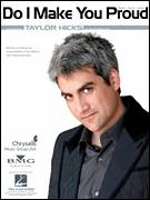 Cover icon of Do I Make You Proud sheet music for voice, piano or guitar by Taylor Hicks, American Idol, Andy Watkins, Paul Wilson and Tracy Ackerman, intermediate skill level
