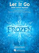 Cover icon of Let It Go (from Frozen) (Demi Lovato version) sheet music for voice, piano or guitar by Demi Lovato, intermediate skill level