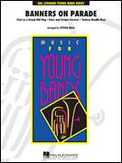 Cover icon of Banners on Parade (COMPLETE) sheet music for concert band by Stephen Bulla, intermediate skill level
