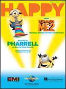 Cover icon of Happy sheet music for voice, piano or guitar by Pharrell Williams and Pharrell, intermediate skill level