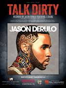 Cover icon of Talk Dirty sheet music for voice, piano or guitar by Jason Derulo, Eric Frederic, Jason Desrouleaux, Jason Evigan, Ori Kaplan, Sean Douglas, Tamir Muskat, Tauheed Epps and Tomer Yosef, intermediate skill level