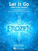 Cover icon of Let It Go (from Frozen) (Demi Lovato version) sheet music for piano solo by Demi Lovato, Kristen Anderson-Lopez and Robert Lopez, easy skill level